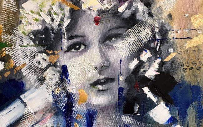 A ISHI Don de Dieu - Portrait - 38x46 8F
