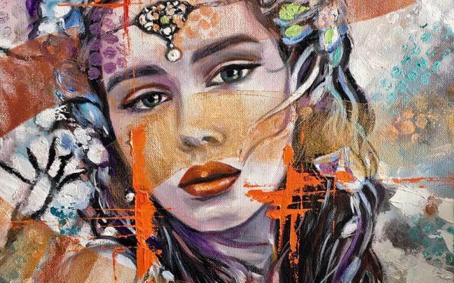Anna - Portrait - 38x46 8F
