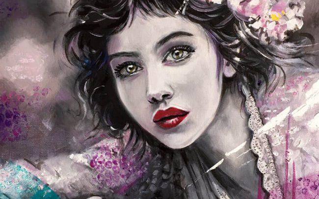 Lisa - Portrait - 46x55 10F