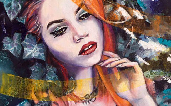 Barbara - Portrait - 46x55 10F