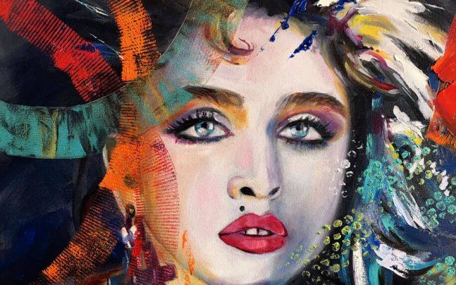 Madonna - Portrait - 50x61 12F