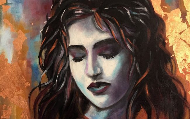 Amala la Pure - Portrait - 50x61 12F