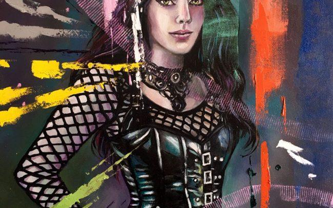 Adrika Céleste - Portrait - 50x61 12F