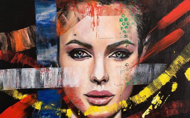 Angelina - Portrait - 50x61 12F