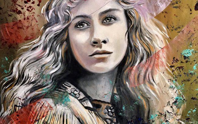 Abhirushi Belle - Portrait - 54x65 15F