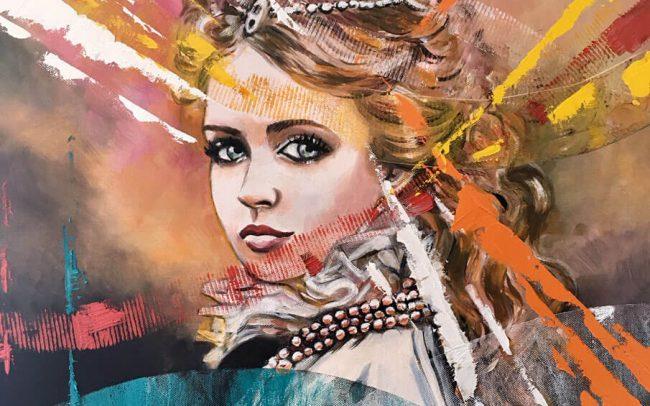 Princesse - Portrait - 50x65 15F