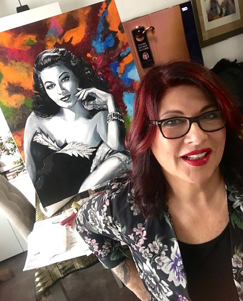 Martine PERUGINI, artiste peintre